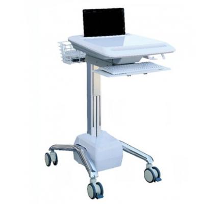 瑞霖医疗 医护专用ABS多功能笔记本推车 移动工作站推车