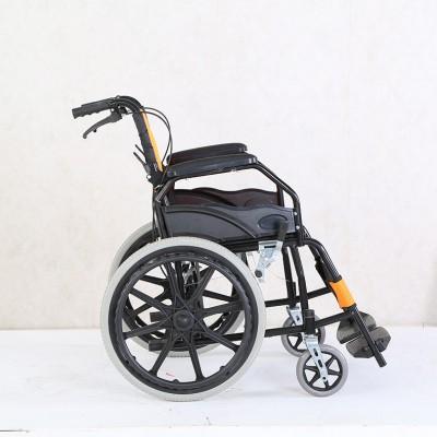 骏龙 折叠轻便轮椅价格 可折叠老人代步轮椅车 家用医用折叠多功能轮椅厂家