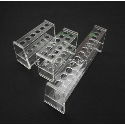 玻璃比色管架 康泰玻璃比色管架 100ml有机玻璃比色管架6孔