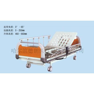 德朗医疗 DL-1116 PE床头三摇整体升降床 三摇护理病床厂家