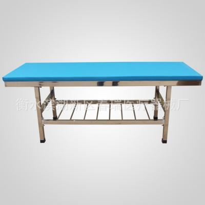 春瑞 多功能软面不锈钢门诊床 美容理疗针灸按摩床厂家