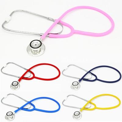 华美 医用听诊器 铝双听双面听诊器价格 单管听诊器 铝双面听诊器