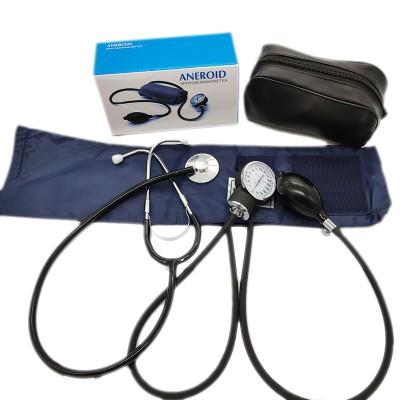 华美 血压表外销医用手臂式血压表 单头听诊器套装无液血压计厂家