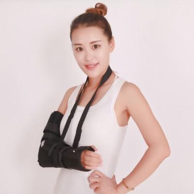博文 手肘骨折术后固定支具价格 肘关节固定带夹板 前臂吊带术后康复护具