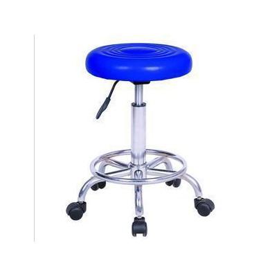 旭达 五脚带背门诊升降凳子 医用接待护士椅价格 牙科医师升降椅厂家
