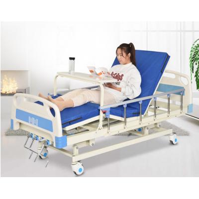 手动ABS三功能病床 和圆医疗手动ABS三功能病床 B04 手动ABS三功能病床