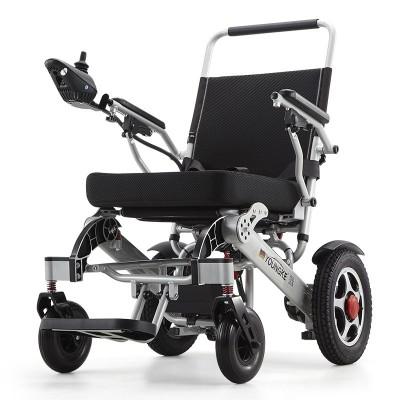 万通 医用可折叠电动轮椅 轻便铝合金多功能折叠轮椅厂家