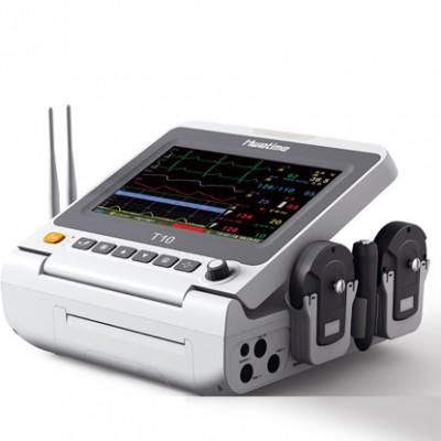 华腾 T10胎儿监护仪 新生儿监护仪价格 一体式便携母亲胎儿监护仪厂家