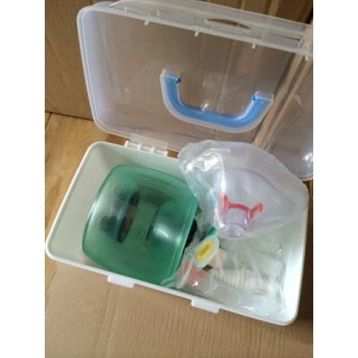 伊麟医疗 成人简易呼吸器价格 复苏气囊人工呼吸器 苏醒球囊急救复苏器