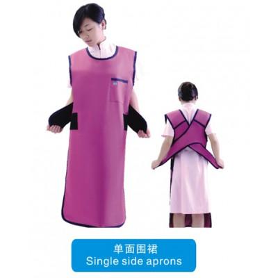 苏州恒康医疗防X射线裙 单面防护围裙 单面连体防铅衣 防护体裙批发