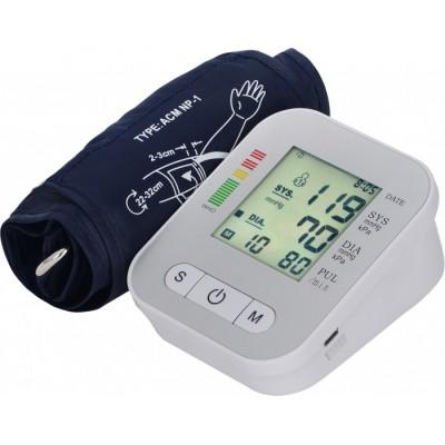 家用手臂式全自动电子血压计厂家家用血压测量仪测量高血压仪器生产中英文电子血压计批发